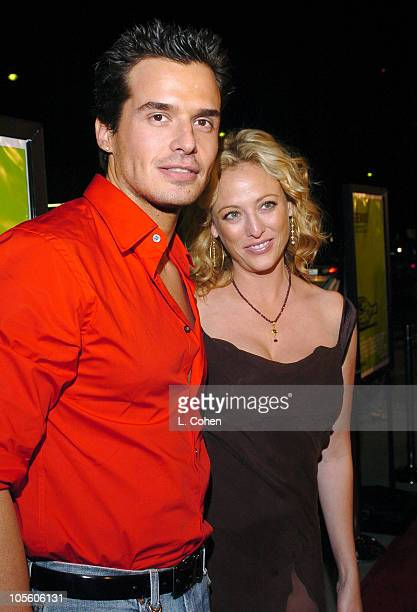 Antonio Sabato Jr and Virginia Madsen during Sideways Los Angeles Premiere Red Carpet at Academy of Motion Pictures Arts and Sciences in Beverly...
