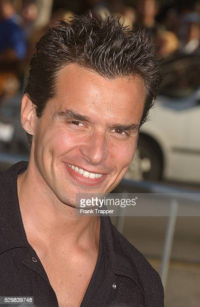 Antonio Sabato Jr arrives at the premiere of 'Batman Begins' held at Grauman's Chinese Theater in Hollywood