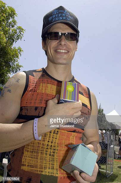 Antonio Sabato Jr at Ergo Candles during Cabana PreMTV Movie Awards Beauty Buffet Day Two at Private Residence in Hollywood California United States