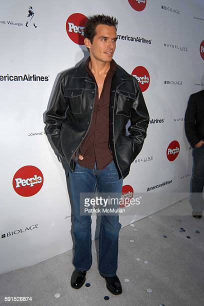Antonio Sabato Jr attends People En Espanol's Fourth Annual '50 Most Beautiful' Gala at Capitale on May 18 2005 in New York City