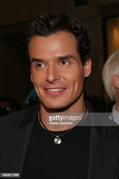 Antonio Sabato Jr attends World Music Awards 2005 at Kodak Theatre on August 31 2005 in Hollywood CA