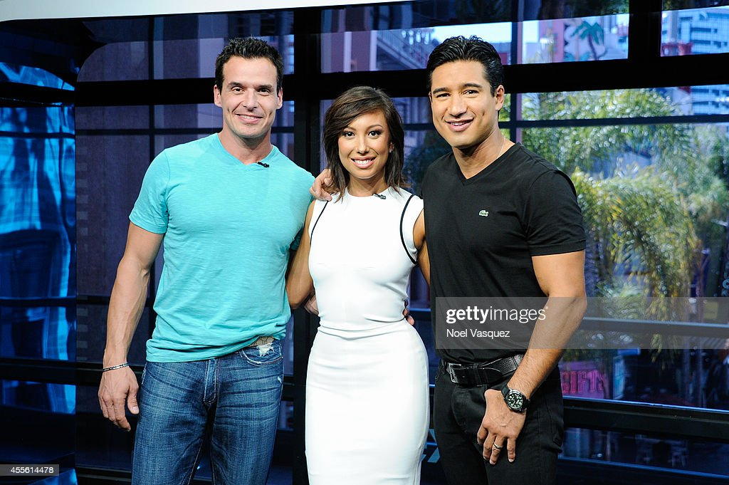 "Cheryl Burke And Antonio Sabato Jr. On ""Extra"""