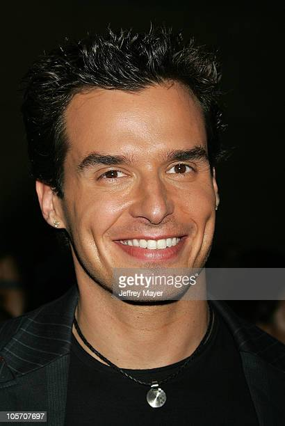Antonio Sabato Jr during 2005 World Music Awards Arrivals at Kodak Theatre in Los Angeles CA United States