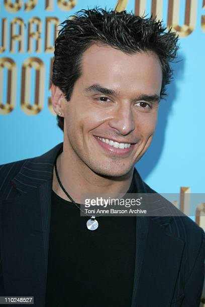 Antonio Sabato Jr during 2005 World Music Awards Red Carpet at Kodak Theatre in Los Angeles CA United States