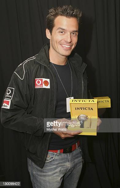 Antonio Sabato Jr during 32nd Annual Daytime Emmy Awards On 3 Productions Gift Suite Day 2 at Radio City Music Hall in New York New York United States
