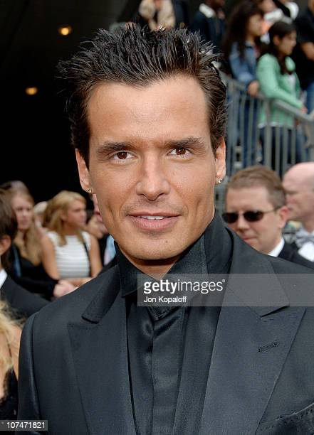 Antonio Sabato Jr during 33rd Annual Daytime Emmy Awards Arrivals at Kodak Theater in Hollywood California United States