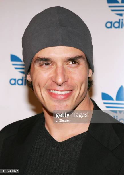 Antonio Sabato Jr during Adidas Originals Melrose Store Grand Opening at Adidas Originals Melrose in West Hollywood California United States