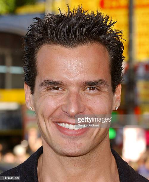 Antonio Sabato Jr during 'Batman Begins' Los Angeles Premiere Arrivals at Chinese Theatre in Los Angeles California United States