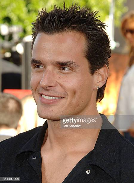 Antonio Sabato Jr during 'Batman Begins' Los Angeles Premiere Arrivals at Grauman's Chinese Theater in Hollywood California United States