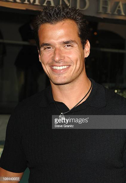 Antonio Sabato Jr during CBS Summer 2005 Press Tour Party Arrivals at Hammer Museum in Westwood California United States