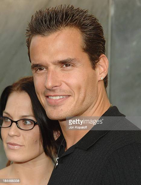 Antonio Sabato Jr during CBS Summer 2005 Press Tour Party at Hammer Museum in Westwood California United States