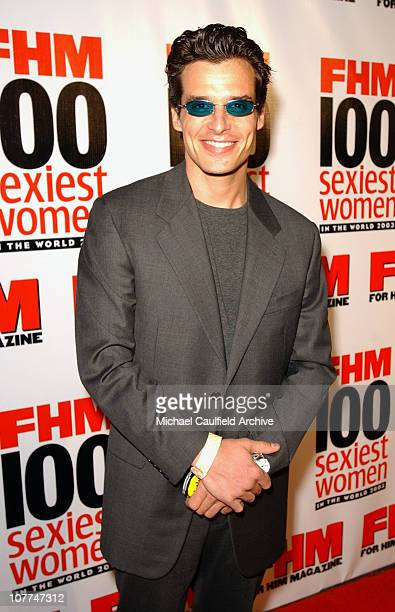 Antonio Sabato Jr during FHM Magazine Hosts The 100 Sexiest Women in the World Party at Raleigh Studios in Hollywood California United States