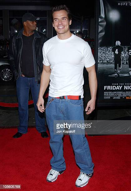 """Antonio Sabato Jr. During """"Friday Night Lights"""" - World Premiere at Grauman's Chinese Theatre in Hollywood, California, United States."""