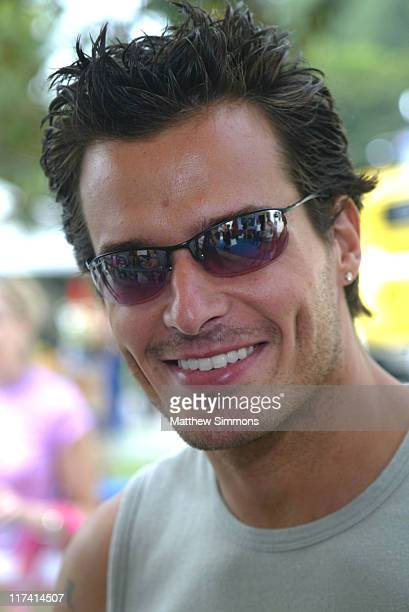 Antonio Sabato Jr during Hasbro at the Silver Spoon Hollywood Buffet Day Two at Private Residence in Los Angeles Calfornia United States Photo by...
