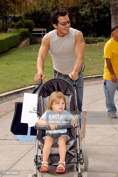 Antonio Sabato Jr during International Truck at the Silver Spoon Hollywood Buffet Day Two at Private Residence in Los Angeles California United...