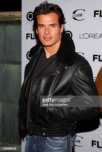 Antonio Sabato Jr during Just Cavalli Hosts Flaunt Magazine's 6Year Anniversary Party Arrivals at Private Residence in Los Angeles California United...