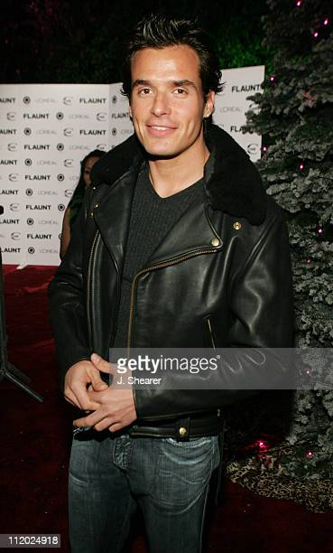 Antonio Sabato Jr during Just Cavalli Hosts Flaunt Magazine's 6Year Anniversary Party Red Carpet at Private Residence in Beverly Hills California...
