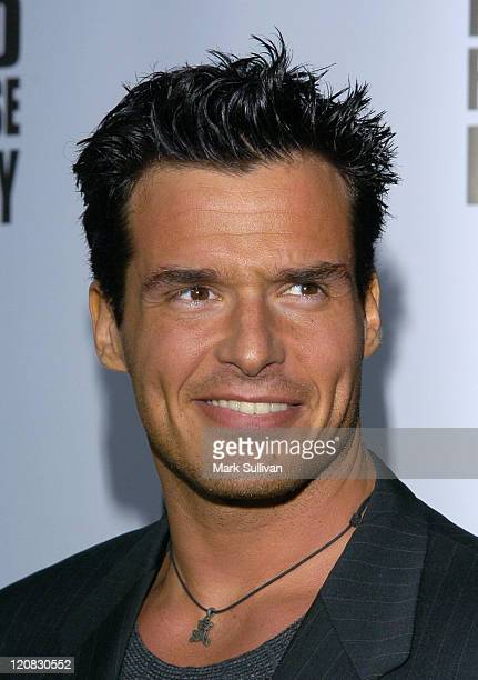 Antonio Sabato Jr during 'Kill Bill Vol 1' DVD Release Party at The Playboy Mansion in Holmby Hills California United States