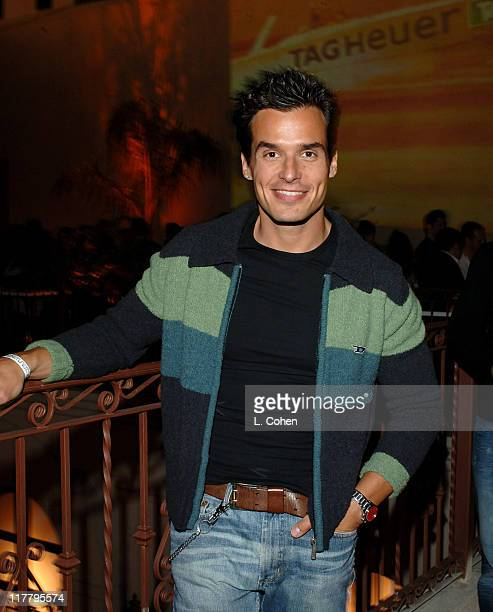 Antonio Sabato Jr during Maxim Magazine's Hot 100 Inside at The Day After in Hollywood California United States