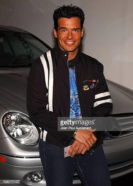 Antonio Sabato Jr during MercedesBenz Fall 2004 Fashion Week at Smashbox Studios Day 2 Arrivals at Smashbox Studios in Culver City California United...