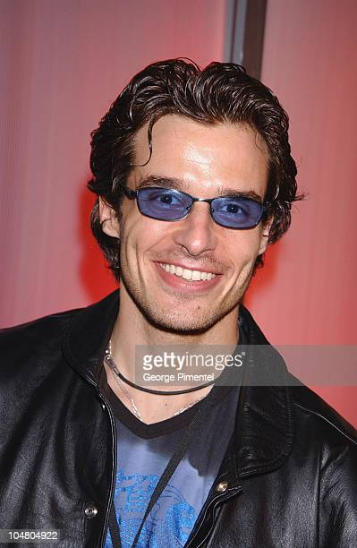 Antonio Sabato Jr during MuchMusic Video Awards 2002 Backstage at Chum City Building in Toronto Ontario Canada