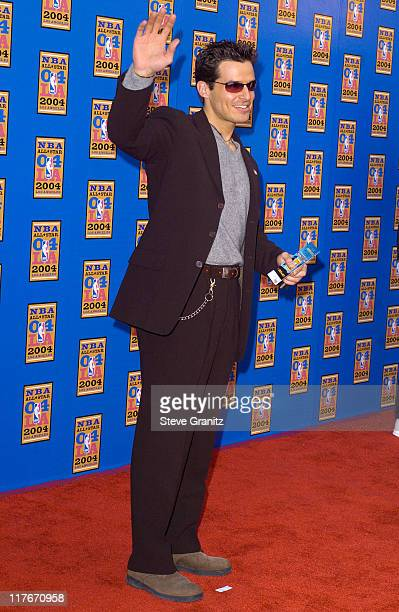 Antonio Sabato Jr during NBA AllStar Game 2004 Celebrity Arrivals at Staples Center in Los Angeles CA United States
