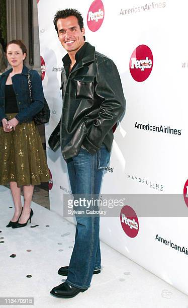 Antonio Sabato Jr during People en Espanol celebrates the '50 Mas Bella' issue at Capitale in New York New York United States