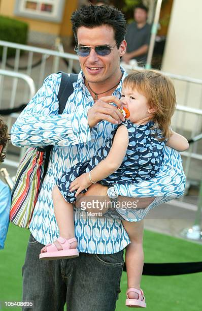 Antonio Sabato Jr during Shrek 2 Los Angeles Premiere Arrivals at Mann Village in Westwood California United States