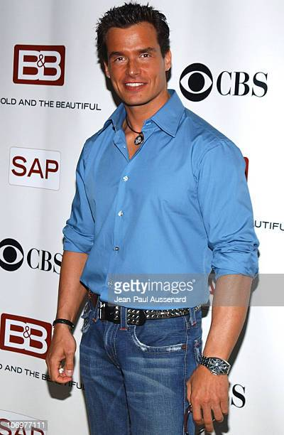 Antonio Sabato Jr during 'The Bold and The Beautiful' Celebrates Five Years of SAP Technology on the CBS Television Network at CBS Television City in...