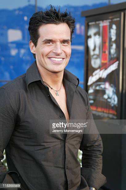 Antonio Sabato Jr during The Last Ride World Premiere Presented by USA Network and Pontiac at Pacific Design Center in Hollywood California United...