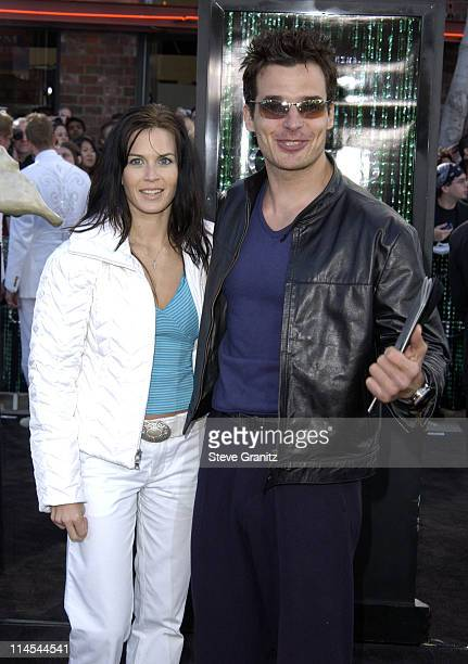 Antonio Sabato Jr during 'The Matrix Reloaded' Premiere at Mann Village Theatre in Westwood California United States