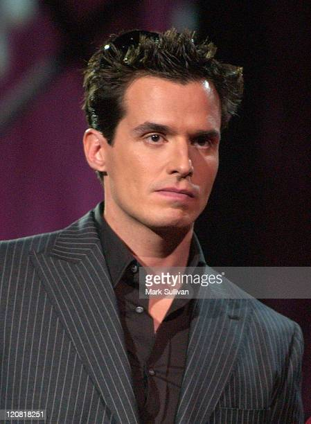 Antonio Sabato Jr during VH1's 'But Can They Sing' Taping November 11 2005 at Tribune Studios in Hollywood California United States