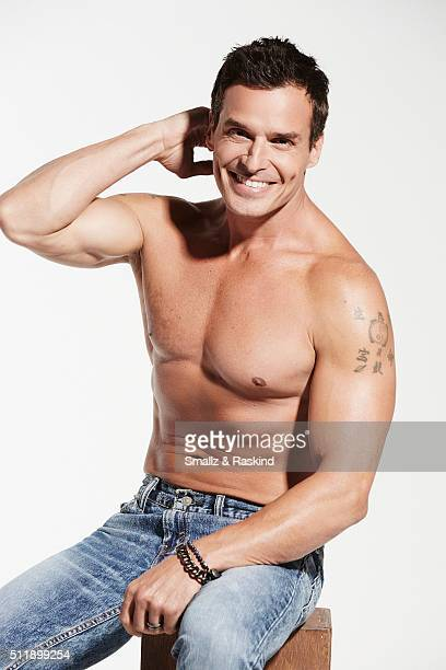 Antonio Sabato Jr is photographed for the Men of the 90's Hot Bodies Issue for Us Weekly on April 29 2015 in Los Angeles California
