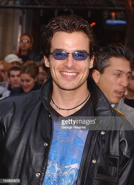 Antonio Sabato Jr on the red carpet at the MMV Awards