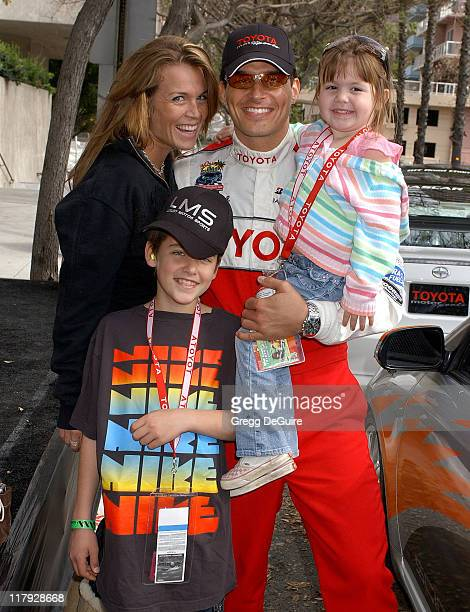 Antonio Sabato Jr son Jack daughter Mina and Kristin Rossetti