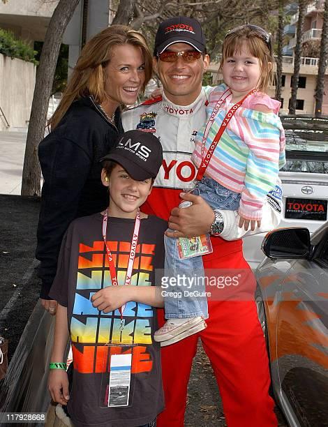 Antonio Sabato Jr son Jack daughter Mina and Kristin Rossetti