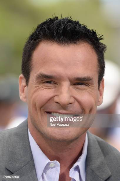 Antonio Sabato Jr visits 'Extra' at Universal Studios Hollywood on June 19 2018 in Universal City California