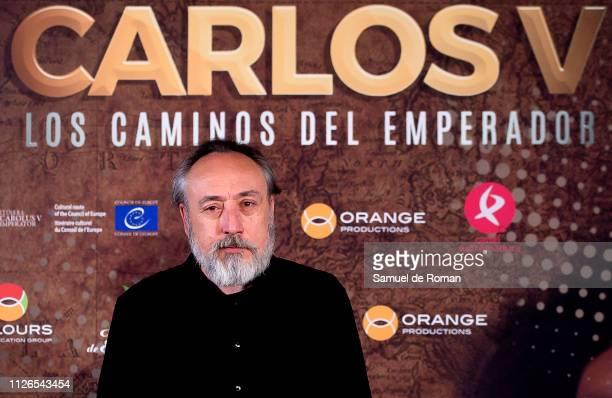 Antonio Salazar attends 'Carlos V Los Caminos De Emperador' Madrid Premiere on January 31 2019 in Madrid Spain