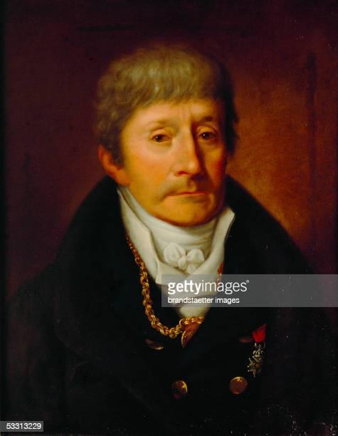 Antonio Salieri composer Canvas Around 1800 [Antonio Salieri Komponist und Gegenspieler von Wolfgang Amadeus Mozart Gemaelde um 1800]