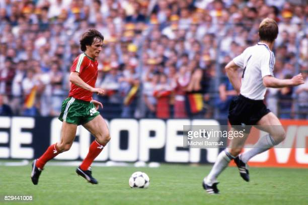 Antonio Sousa of Portugal during the European Championship match between West Germany and Portugal at Meinau Strasbourg Paris on 14th June 1984