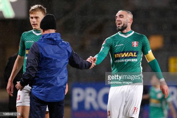 Antonio Stankov of FC Dordrecht during the Dutch Keuken Kampioen Divisie match between Roda JC v FC Dordrecht at the Parkstad Limburg Stadium on...