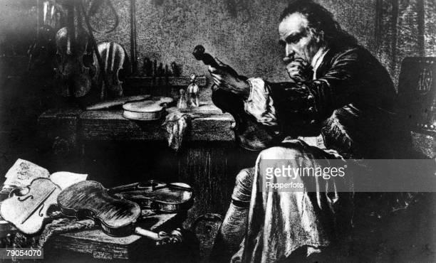Antonio Stradivarius Italian string instrument maker