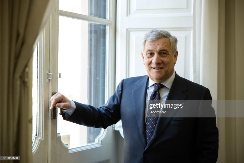 European Parliament President Antonio Tajani Interview