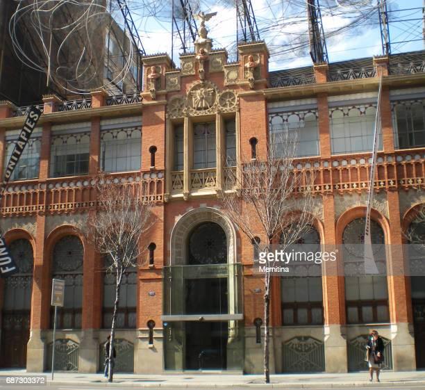 antonio tapies foundation em barcelona - pós guerra - fotografias e filmes do acervo