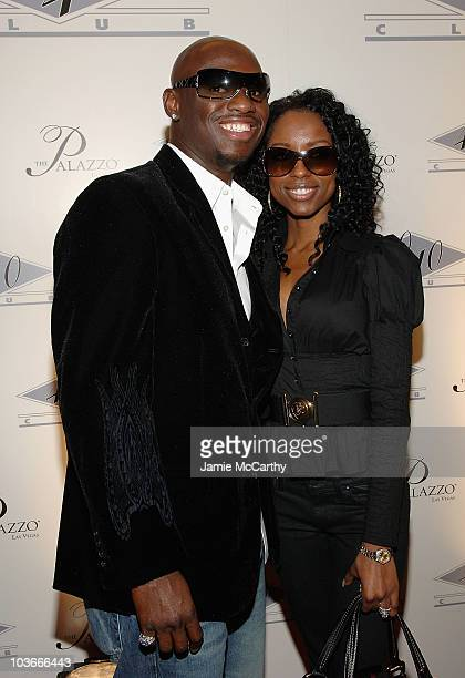 Antonio Tarver and Denise Tarver attend The Grand Opening of JayZ's 40/40 Club At The Palazzo Hotel Las Vegas December 30 2007