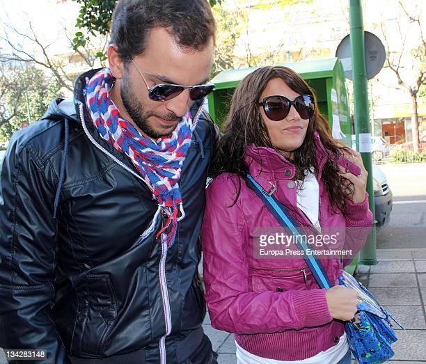 Antonio Tejado and Alba Munoz are seen on November 29 2011 in Madrid Spain
