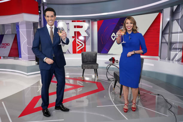 FL: New Hosts Jessica Carrillo And Antonio Texidor Join Telemundo's Al Rojo
