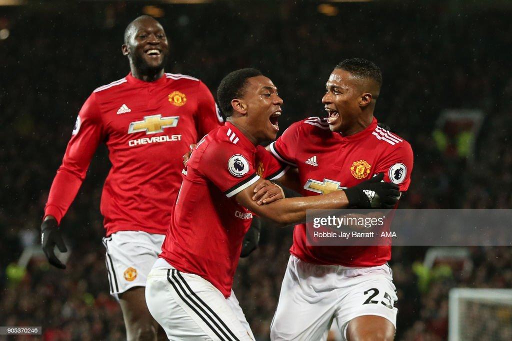 Manchester United v Stoke City - Premier League : News Photo