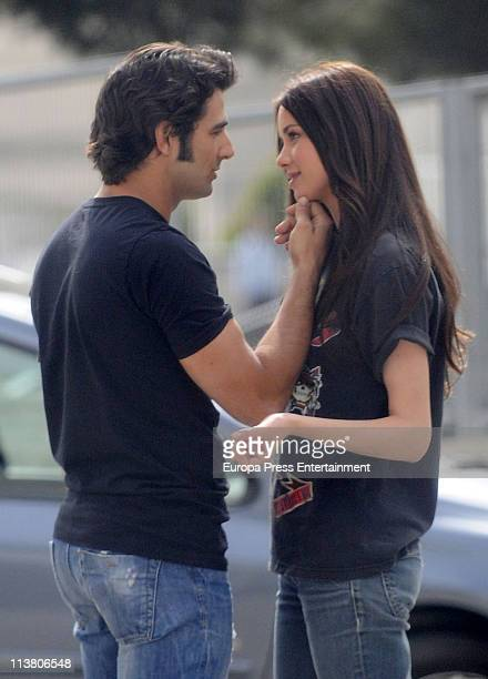 Antonio Velasco and Dafne Fernandez are seen sighting on May 6 2011 in Madrid Spain
