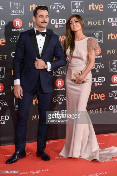 Antonio Velazquez and Marta Gonzalez attend Goya Cinema Awards 2018 at Madrid Marriott Auditorium on February 3 2018 in Madrid Spain